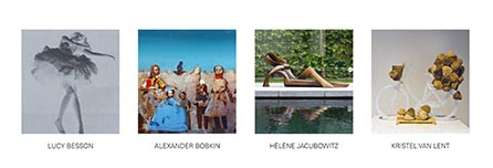 Collage expositie Sous-Terre Aalsmeer 26 maart - 22 mei 2016