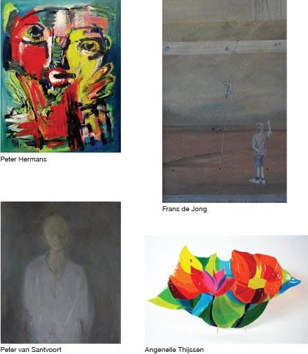 Collage expositie Sous-Terre Lithoijen 18 januari - 15 maart 2015