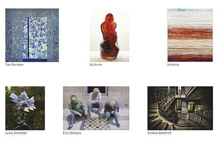 Collage expositie Sous-Terre Lithoijen 22 maart - 17 mei 2015