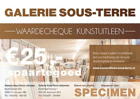 Galerie Sous-Terre waardecheque kunstuitleen thumb