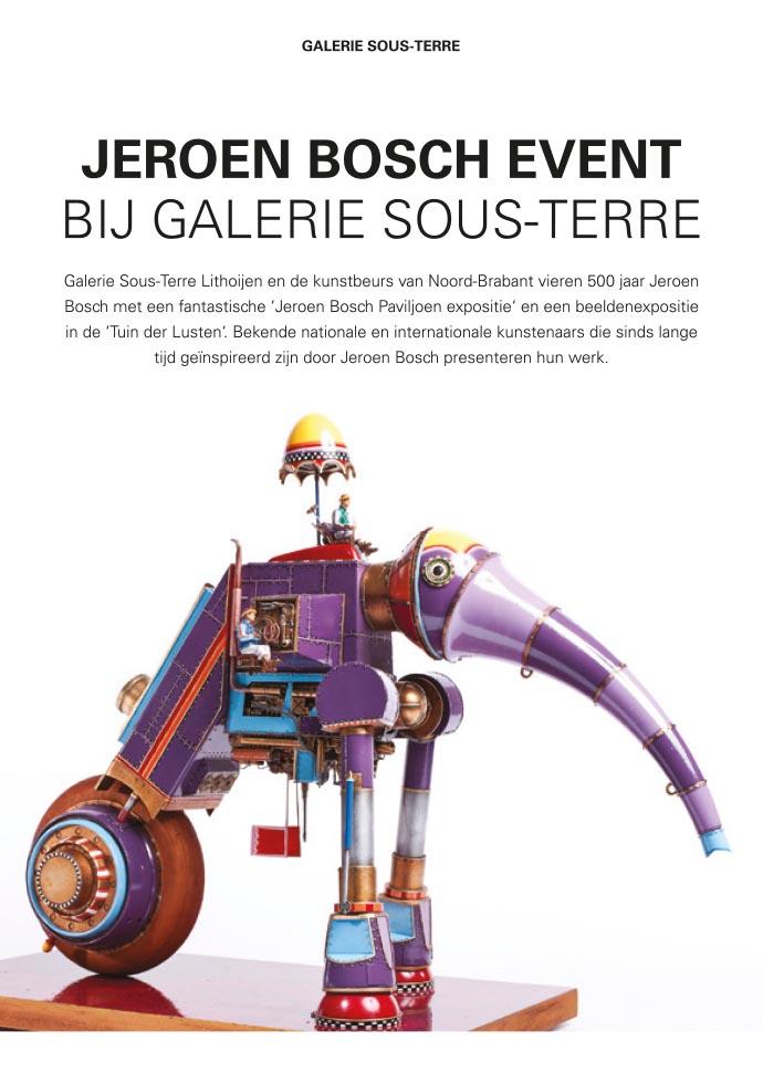 Jeroen Bosch Event flyer