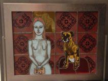 Besta Stankiewiez-Szezerbik- Met hond-glas-1500