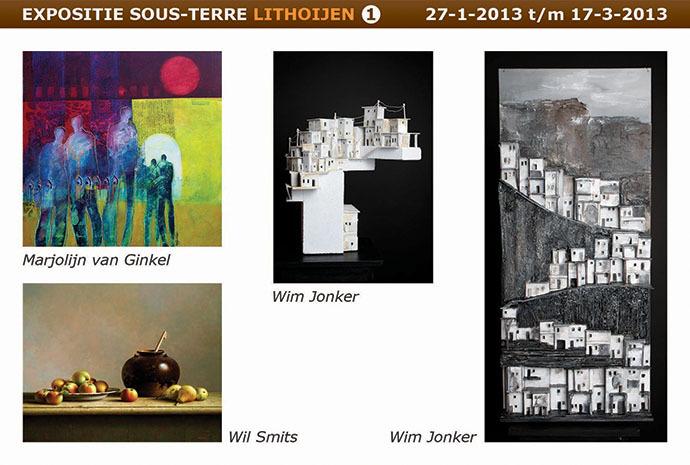 Nieuwe expositie Sous-Terre Lithoijen
