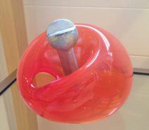 Fredy E. Wubben-Aguacate-rood glas en aluminium-575