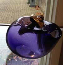 Fredy E. Wubben-Jazmin-Violet II glas brons-575