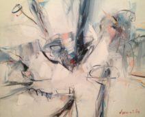 Peter John Voormeij - One of the lords - Acryl op linnen - 60x75 cm - Nr. 5 - 3700