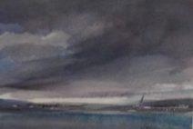 Peter john Voormeij - Coal Port, Delta BC - Aquarel - 550