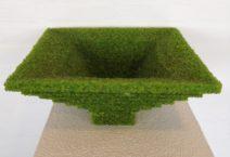 Carl van Hees - Bilancia scala - Glas - 18-35-35 cm - € 3000,--
