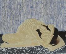 Ad Verhagen - Painted by sun - 120 x 100cm - € 1175,--_