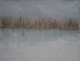 Ad Verhagen - Winter - 100x130 cm - € 2100,--