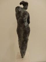 Afke Dam - Gratie - Brons op bianco del mar - opl. 2-6 - 22 cm - 475