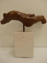 Afke Dam - Zomergevoel - brons op bianco del mar - opl. 1-6 - 18 cm - 750