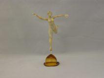 Albert Hendriks - Ballerina ivoorkleur - Glas - 15cm - € 200