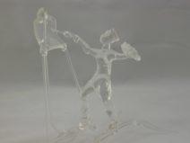 Albert Hendriks - Schilder -Glas - 12cm -€ 150