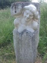 Eduard van Rooy - Portret - Frans kalksteen - € 3500,--