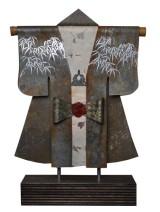 Kimono 201405 - lood en gemengede techniek - 30x23 cm - 450,- euro