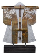 Kimono 201423 - lood en gemengede techniek - 30x23 cm - 450,- euro