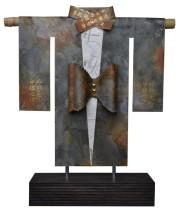 Kimono 201425 - lood en gemengede techniek - 30x23 cm - 450,- euro