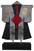 Kimono 201453 - lood en gemengede techniek - 30x23 cm - 450,- euro