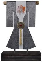 Kimono 201456 - lood en gemengede techniek - 33x23 cm - 450,- euro