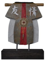 Kimono 201469 - lood en gemengede techniek - 27x23 cm - 395,- euro