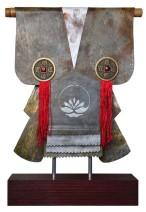 Kimono 201472 - lood en gemengede techniek - 28x23 cm - 395,- euro