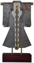 Kimono 201479 - lood en gemengede techniek - 33x23 cm - 450,- euro