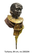 Marianne Houtkamp - Turkana - Brons - 84x25 cm - €5600,-