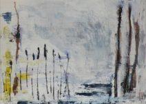Francien van Poppel - z.t. 1 - Acryl op linnen - 80 x 110 cm - € 2750,--