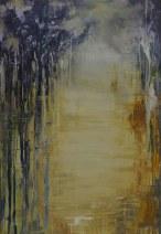 Francien van Poppel - z.t. 5 - Acryl op linnen - 110 x 160 cm - € 3500,--