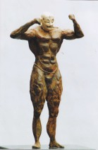 Harry Englebert - Z.t. 3 - Brons - hoogte 18 cm - 2100