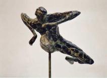 Hordeloper - brons - 33 cm - opl. 6-8 - 1100