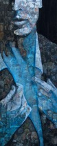 Ank-ter-Kuile-Manpower-100x40cm-acryl op collage foto's-1550 euro incl lijst