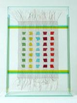 Frank Biemans, Copper Color Glass,  52 x12xh72cm, €975,=