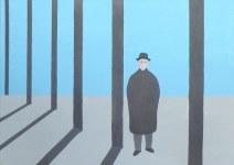 Geurt Ouwerkerk Art 1 - 15  gewone mensen - canvas 500  x 700 mm 1400 euro excl