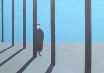 Geurt Ouwerkerk Art 3 - 15  gewone mensen - canvas 500  x 700 mm 1400 euro excl