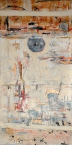 Ismahane Kamar-From mind to sensuality-mixed media-62x122 cm-nr.13 - 850