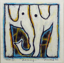 Intimacy - zeefdruk - 40x40 - 450