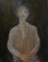 Peter van Santvoort Vrouw in Roze 2.800,00 Olieverf op linnen 70 x 90