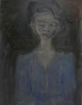 Peter van Santvoort Vrouw in Transparant Blauw  3.000,00 Olieverf op linnen 70 x 90