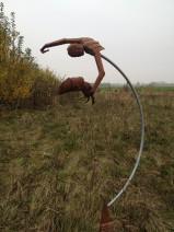 Adje Martens - Visser - Staal - 190x80x80 cm - 1800