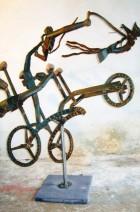 Adje Martens - Yoj Ridhers - corten staal - h 160 cm b 120 cm - 2950