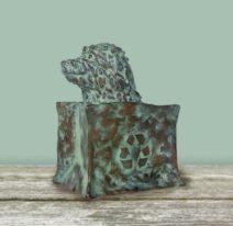 Annemarie van der Kolk - Doggybag - Brons - Opl. 5 - 13x16 cm - 950