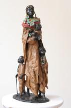Marianne Houtkamp - Rijkdom - Brons - 46 cm - 200291 - 5700