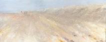 Yvonne Ravelli - along the beach - acryl - 40x1.00 - € 890,-