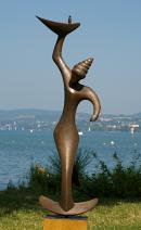 Oliver Ritter - Flamme - brons - 19500 verkleind