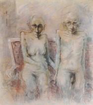 Jan Verhees - Schon ist die Jugendzeit 2 - acryl op canvast - 100x110 - 3300_682x768