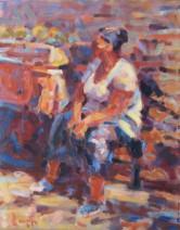 Erik Langkjaer - The small fruit stall - 60x45 - 1275_602x768