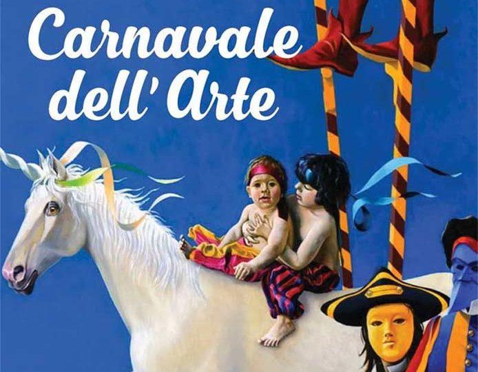 Spraakmakende tentoonstelling Carnavale dell' Arte met theatraal karakter