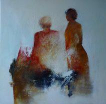 Paula Evers - The mother - gem. techniek - 100x100 - 3100_781x768